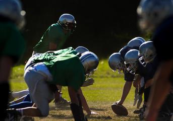 Fototapete - American football