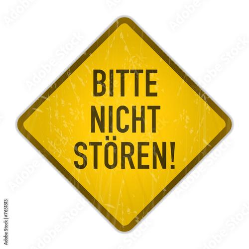 Schild Bitte Nicht Storen Stockfotos Und Lizenzfreie Vektoren Auf