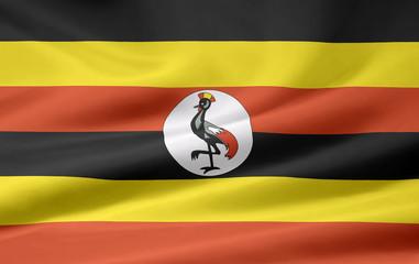 Ugandische Flagge
