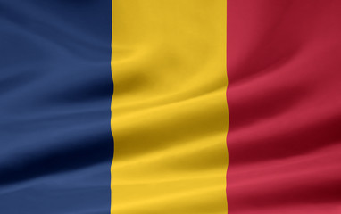 Tschadische Flagge