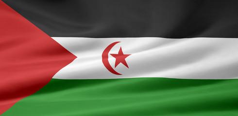 Westsahara Flagge