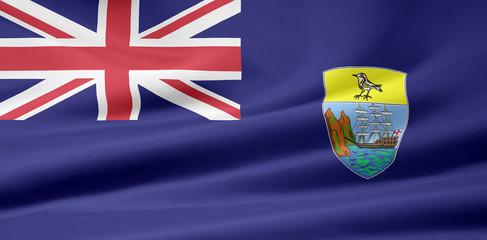 Saint Helena Flagge