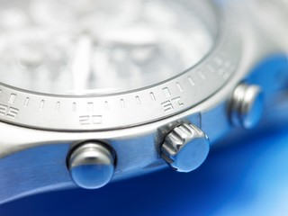 close-up of a watch