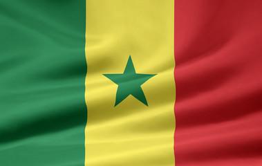 Senegalesische Flagge
