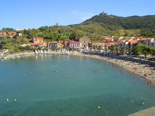 Bay of Collioure - french Pyrenees - Vermeille coast
