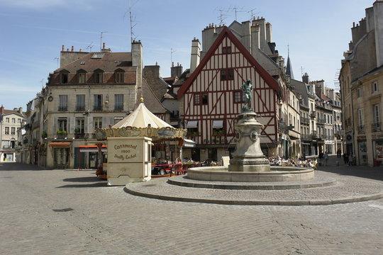 Marktplatz, Dijon, Burgund