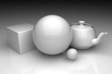 simple 3d figures