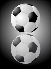 Fussball - gespiegelt