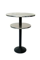 tavolino in metallo da bar