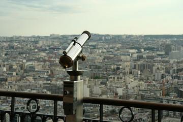Spyglass and Paris panorama