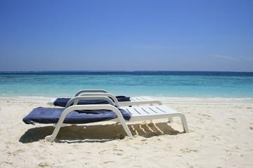 Maldivian deck chairs