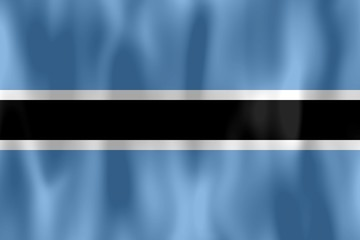 drapeau botswana flag