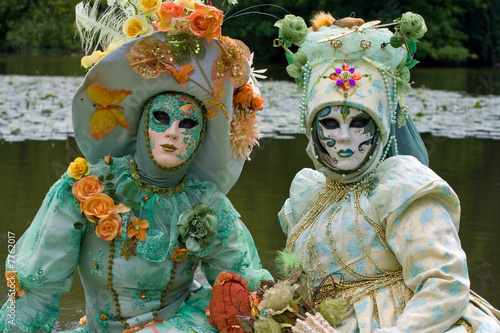duo costume carnaval d guisement f te venise masque. Black Bedroom Furniture Sets. Home Design Ideas