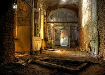 Photo sur cadre textile Ancien hôpital Beelitz Beelitz Heilstätten 2