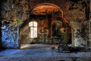 Keuken foto achterwand Oud Ziekenhuis Beelitz Hell-Dunkel