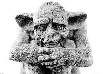 head of sitting troll
