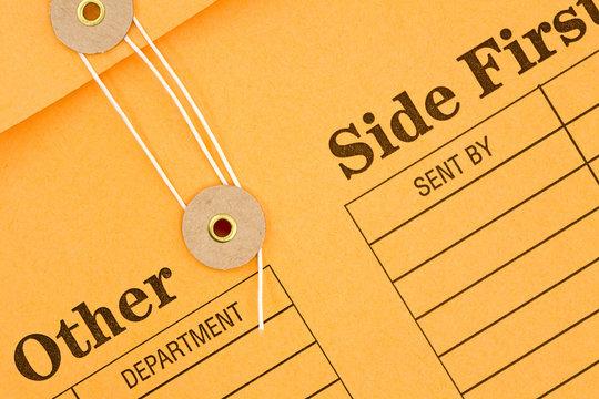 Interoffice Envelope Closeup