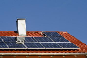 Neubau mit Solarenergie