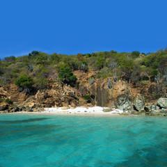 Prickly Pear sur l'île de Virgin Gorda
