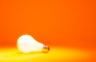 Bright Orange Bulb