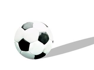 Fußball mit Schatten