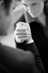business arm wrestle
