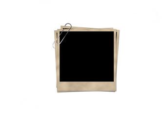 Empty polaroid