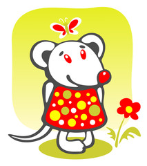 cartoon mousy