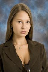 serious woman executive