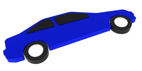 Contour of the automobile