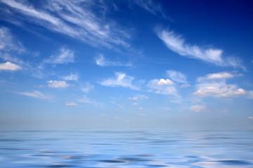 Fotoväggar - Skies upon water