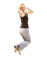 Пirl jumping of joy