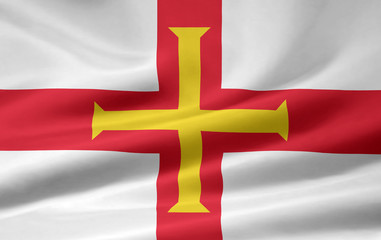 Guernsey Flagge