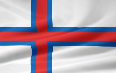 Färöische Flagge