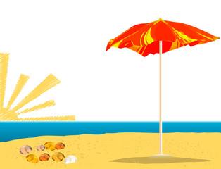 Summer Resort Illustration