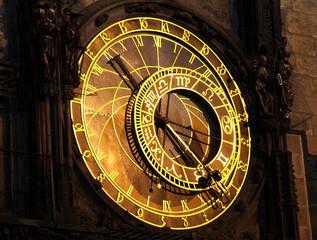 Astronomical clock on Prague's Orloy tower