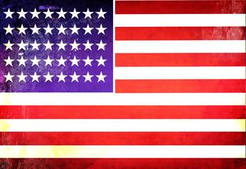 American flag Grunge Textures