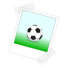 sofortbild fussball