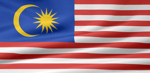 Malaysische Flagge