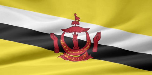Brunei Flagge