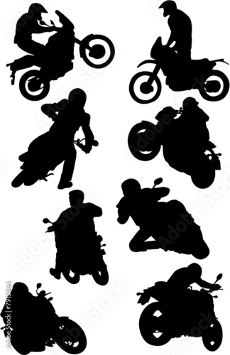 Wall mural MOTO CROSS