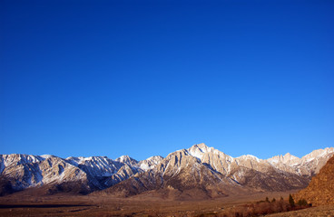Mount Whitney and lone pine peak a