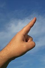 Pointing Hand Gesture