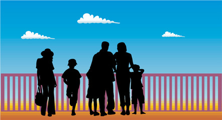 Wall Mural - FAMILLE