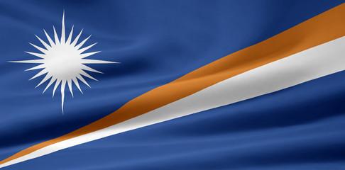 Marshall Inseln Flagge