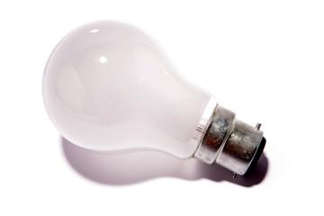 Light-bulb on white background