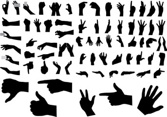 Gestures of hands. For similar works search in my galleries.