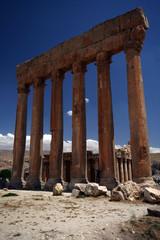 Baalbek temple