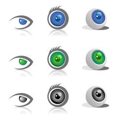 Eye logo/icon/signature