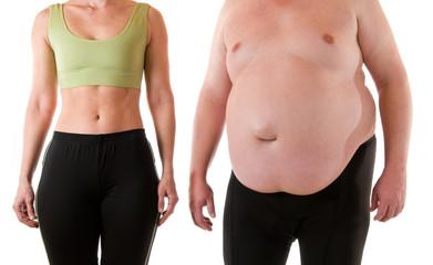 Sportlich und fett